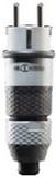 ABL Sursum 2KT-Schuko-Stecker grau schwarz 2,5 qmm 1529160