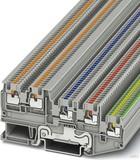 Phoenix Contact Inst. schutzleiterklemme 0,14-1,5qmm, grau PTIO 1,5/S/4-PE
