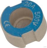 Mersen D-Schraub-Paßeinsatz D II, 20A blau 1657.02