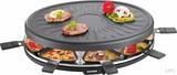 Severin RG2681 Raclette 8 Pers. 1100W schwarz