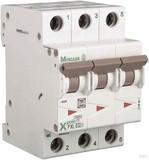 Eaton / Möller LS-Schalter mit Beschrift. B 13A, 3p PXL-B13/3