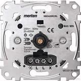 Merten Universal-Drehdimmer-Eins. 20-420 W/VA MEG5138-0000