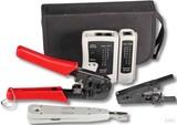 EFB-Elektronik Werkzeugset Netzwerke 4-teilig mit Tasche 39919.1