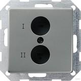 Gira 040220 Stereo Lautsprecher Steckdose E22 Edelstahl