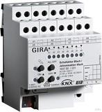 Gira 103700 Schalt Jalousieaktor 8fach 4fach 16 A KNX EIB REG