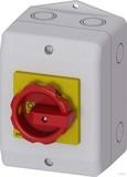 Siemens Haupt-/Not-Aus-Schalter 1N+1PE 3p. 16A 7,5kW 3LD2064-0TB53
