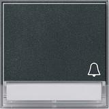 Gira 067367 Wippe Symbol Klingel mit Beschriftungsfeld TX_44 (wassergeschützt unterputz) Anthrazit