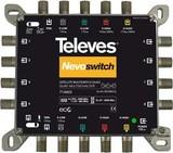 Televes MS58NCQ 5/8 Multisch. Nevo m.NT, Quadt.