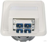 Telegärtner Anschlussdose OAD/S mit 2xSC-D alpinweiß (aws) H02051C0514