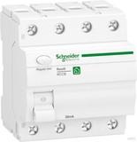 Schneider Electric Fehlerstrom-Schutzschalter 3P+N,63A,30mA R9R22463