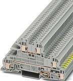 Phoenix Contact Installationsetagenklemme 0,2-4qmm 5,2mm grau UTI 2,5-PE/L/L