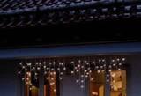 Hellum LED-Eislichtvorhang 80tlg. weiß 555332