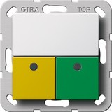Gira 291503 Dienstzimmereinheit Notrufset System 55 Reinweiß
