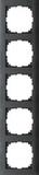 Merten Rahmen 5fach anthrazit MEG4050-3614