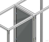 Schneider Electric Trennwand verzinkt SF Stahlbl., 1600x600mm NSYPPS166
