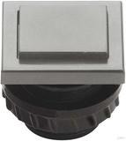 Grothe Klingeltaster 13,5x16mm Knopf ws, Hülse cremeweiß (ws) PROTACT 680 KS