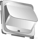 Elso Zentralplatte,schräg,gesch lossen,reinweiß 206884