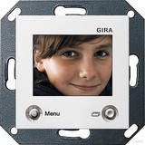 Gira 128603 TFT Farbdisplay System 55 Reinweiß