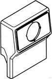 Rehau Gerätetank leer cremeweiß (cws) mit Blende 12614981150