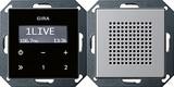 Gira 2280203 Unterputz Radio RDS E22 Aluminium glänzend