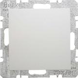 Berker Blindverschluss polarweiß/glänzend mit Zentralstück 6710098989