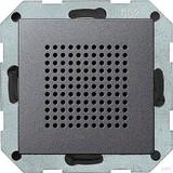 Gira 228228 Lautsprecher Unterputz Radio System 55 Anthrazit glänzend