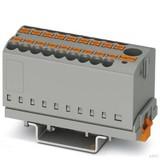 Phoenix Contact Verteilerblock 0,14-4qmm, grau PTFIX6/18X2,5-NS35GY