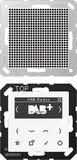 Jung Smart DAB+ Digitalradio SetMono1LS DAB A1 WW