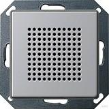 Gira 2282203 Lautsprecher Unterputz Radio E22 Aluminium glänzend