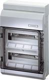 Hensel Automatengehäuse 24TE 2x12x18mm IP65 KV 9224