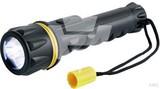Hückmann Gummi-Taschenlampe LED, 2xAA 137508