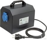 Trafo-Technik-Hoppecke Trenntrafo, tragbar schwarz ETR 1000VA 230/230V