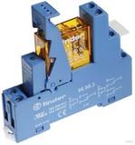 Finder Koppelrel. Gold-K. 230VAC2We mit Fas.+LED+Vari. 49.52.8.230.5060