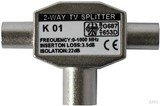 Kreiling Tech. TV-Zweigeräteverteiler met IEC, vollgeschirmt K01