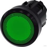 Siemens Drucktaster 22mm, rund, grün 3SU1001-0AB40-0AA0