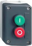 Schneider Electric Gehäuse mit 2 Taster 1S1Ö (I) (O) XALD213