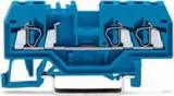 WAGO Durchgangsklemme blau 0,08-2,5qmm 280-684