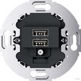 Berker USB Ladesteckdose 230V 2fach 3A anthrazit 260215