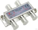 Hirschmann SCS4, 4fach-F-Verteiler,10,2dB