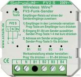 Schalk Funk-Sender UP 4 Eingänge FV2 S 230V AC