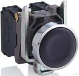 Schneider Electric Drucktaster flach, sw, 1S XB4BA21