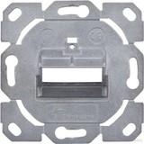 Telegärtner Modul-Aufn. 1-/2-fach UP/0 BR für Schalterprogr. H02010B0085