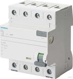 Siemens FI-Schutzschalter 40A,3+N,30mA,400V 5SV3344-6KL