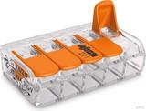 WAGO Compact-Verbindungsklemme 5-Leiter bis 4qmm 221-415 (25 Stk.) (25 Stück)