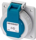 Mennekes Schuko-Anbau-Steckdose 16A2p+E 230V IP68 BL 17006