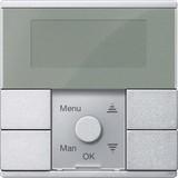 Merten Zeitschaltuhr-Modul aluminium MEG5754-0460