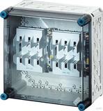 Hensel Sicherungsgehäuse 2xNH00 3p. 125A+PE+N MI 4250