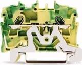 WAGO Schutzleiterklemme 1,5qmm,grün/gelb 2001-1207