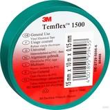 3M Elektroisolierband 15mm x10m grün TemFlex 1500 15x10gn