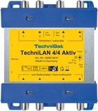 TechniSat Koax LAN Weiche TECHNILAN4/4aktiv